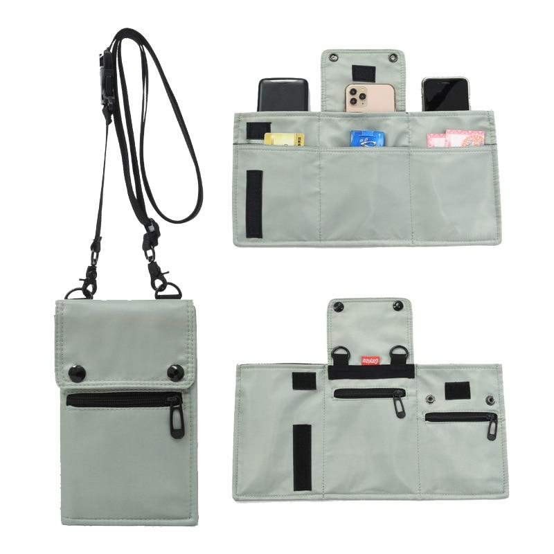 phone Messenger Bag Crossbody Shoulder Bags Travel Bag Man Purse Small Sling Pack for Work Business Handbag Purse