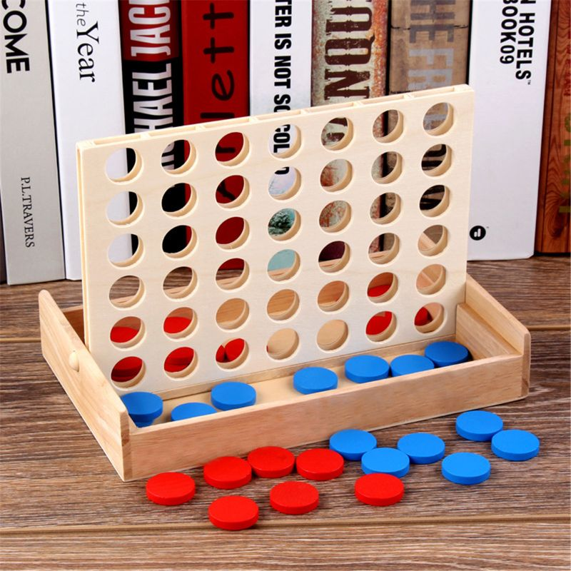 1 pcs new arrival hot sale connect four in a row 4 in a line board game kids children fun educational plastic challenging toy 4 in a Row. Four in a Row Wooden Game, Line Up 4, Classic Family Toy, Board Game For Kids And Family Fun