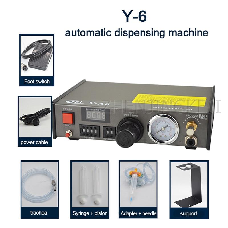 Fully Automatic Dispenser Manual Controller Efficient Glue Silica Gel Automatic Glue Injection Filling Machine Glue Machine Tool