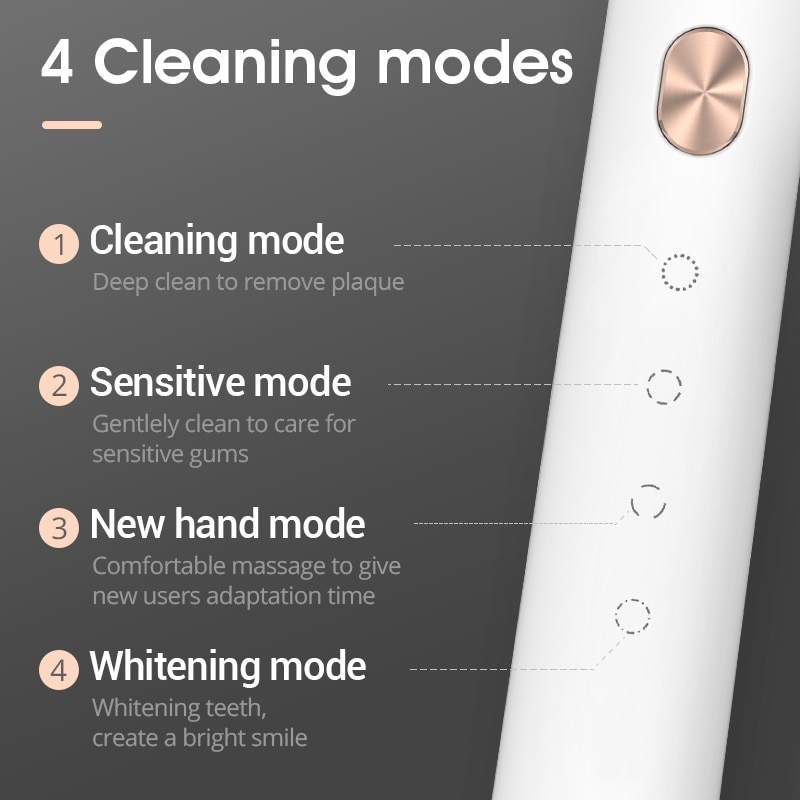 SOOCAS X3U Sonic Electric Toothbrush Smart Tooth Brush Ultrasonic Automatic Toothbrush USB Fast Rechargeable Adult Waterproof enlarge