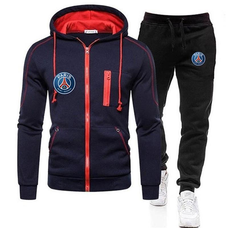 Новинка 2021, мужской свитер, спортивная одежда, теплый спортивный костюм, спортивный костюм, повседневный спортивный костюм, спортивный кост...