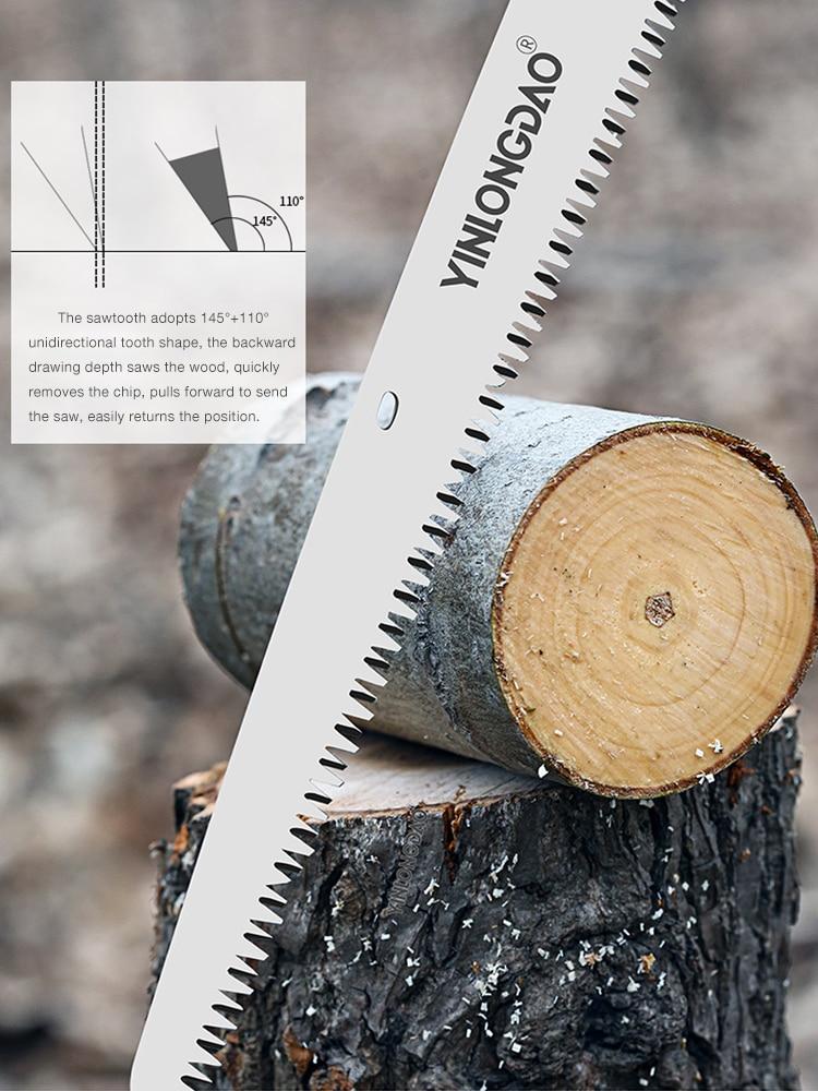 Kokkupandav saag raskeveokite eriti pika teraga käsisaag puidust - Aiatööriistad - Foto 4