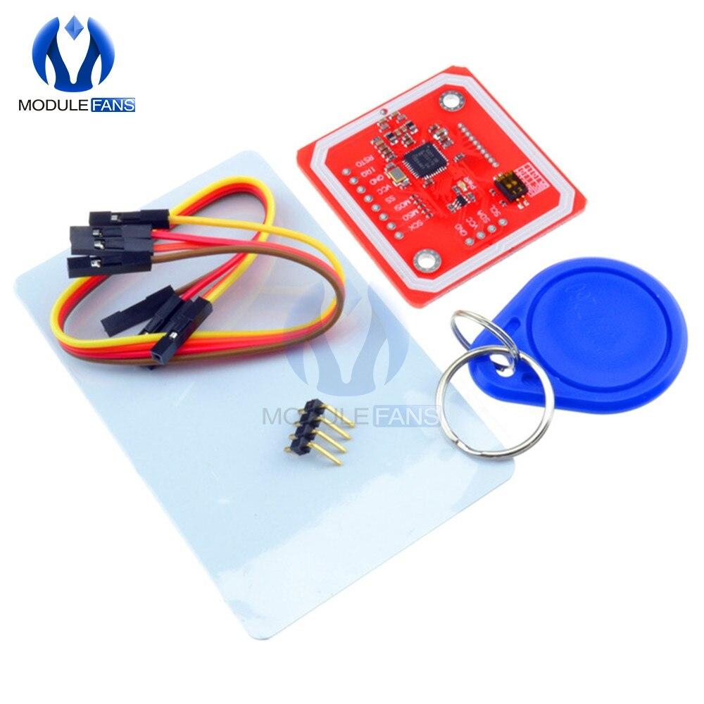 NFC RFID беспроводной модуль для Arudino V3 NFC наборы ридер режим записи IC S50 карта PCB Attenna I2C IIC SPI UART