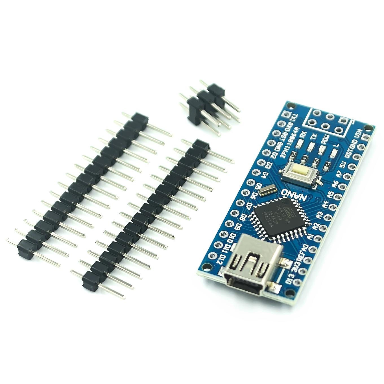 10 Stks/partij Mini Usb Nano V3.0 ATmega328P CH340G 5V 16M Micro-Controller Board Voor Arduino Nano 328P Nano 3.0