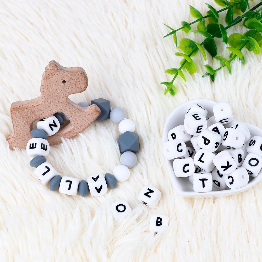 Силиконовые жевательные игрушки ручной работы с именем медсестры, Подарочные игрушки, коала, ожерелье для прорезывания зубов, клипса для со...