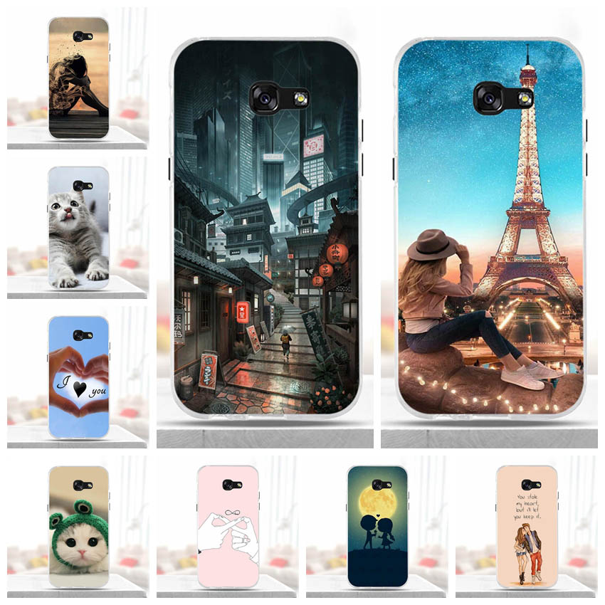 Funda para Samsung Galaxy A5 2017, funda de silicona suave para Samsung A5 2017 A520F, funda trasera del teléfono TPU para Galaxy A5 2017