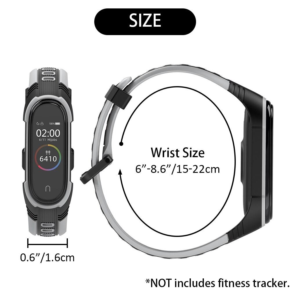 For Xiaomi Mi Band 5 Strap Pulseira 3 4 Wrist Bracelet Silicone Opaska Correa for Miband 5 Xiomi Xaomi Wristbands Accessories
