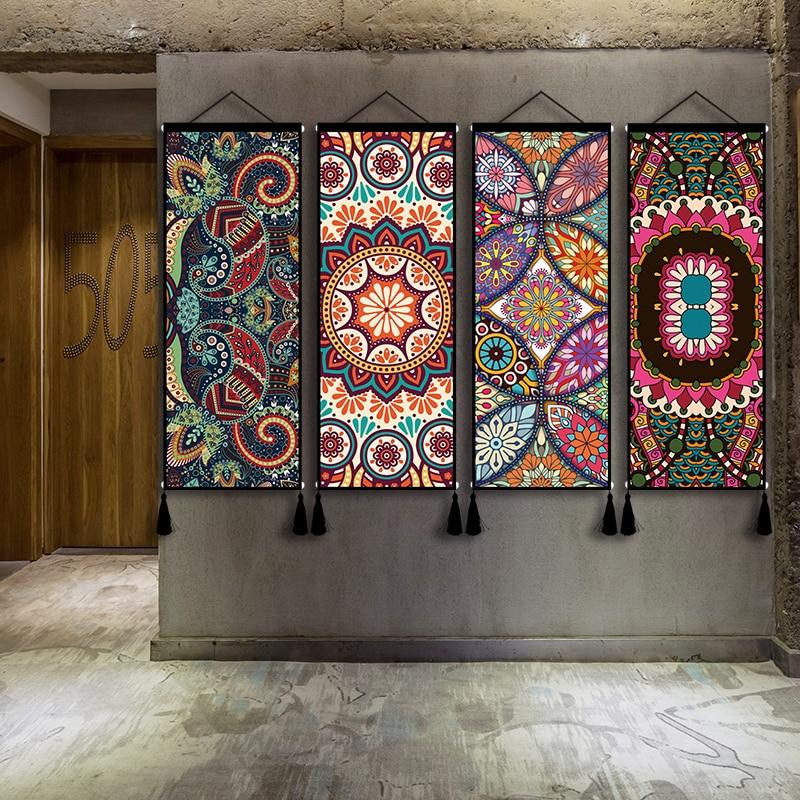 Гобелен богемный декор дома декоративное фоновое полотно для тканевые обои украшения дома прикроватный настенный светильник Одеяло гобелен Спальня на стене