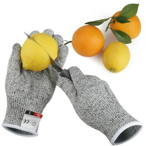 High Quality Anti Cut Gloves Safety Proof Stab Resistant Wire Metal Mesh Kitchen Butcher Cut-Resistant Tactical Gardening Gloves