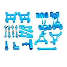 Blue Upgrade Swing Arm Pull Rod for HSP 94122 RC Truck Hobby Car Modified