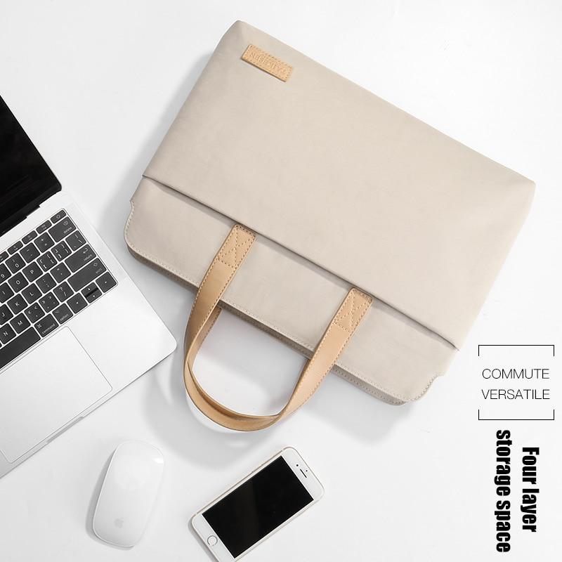laptop bag for Lenovo air 13.3 Apple MacBook Xiaomi Huawei matebook 14inch computer bag 15.6 female pro15 Dell 13 sleeve handbag