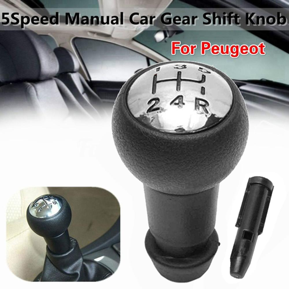 5 speed car gear shift knob for peugeot 106 107 205 206 207 306 307 308 309 405 406 407 508 605 607 806 807 citroen c1 c3 c4 5 Speed Car Manual Gear Shift Knob for Peugeot 106 206 306 406 806 107 207 307