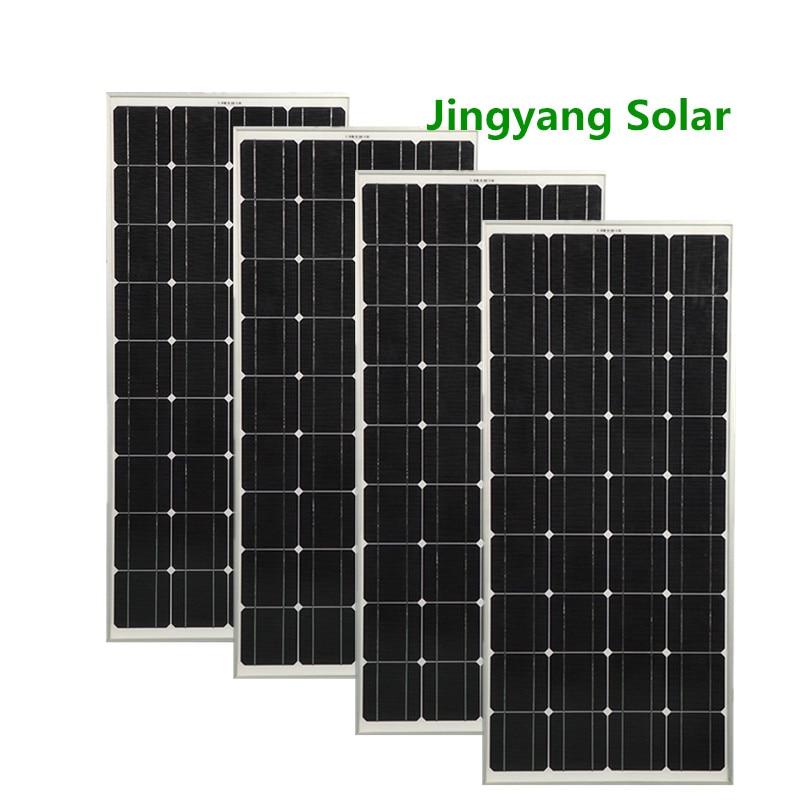 100w/200/300w/400W مرنة الألواح الشمسية أحادية الخلايا ل قارب قافلة RV 1 النظام ، أسود ETFE مرنة الشمسية لوحة