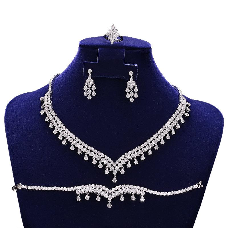 Jewelry Sets HADIYANA Temperament Hot Wedding Bridal Jewelry Sets for Women Elegant Party Gift Fashion Costume CN1109 Bisuteria
