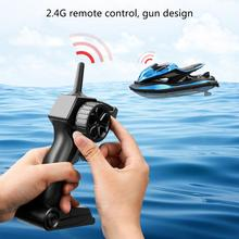JJRC S9 1/14 2.4G Motorcycle Double Motor Two Speed Vehicle RC Boat Remote Control Boat Models Outdo