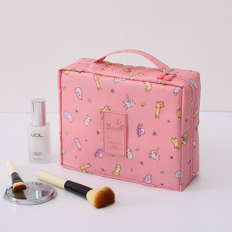 Multifunctional waterproof storage bag for travel toiletries and cosmetics  - buy with discount