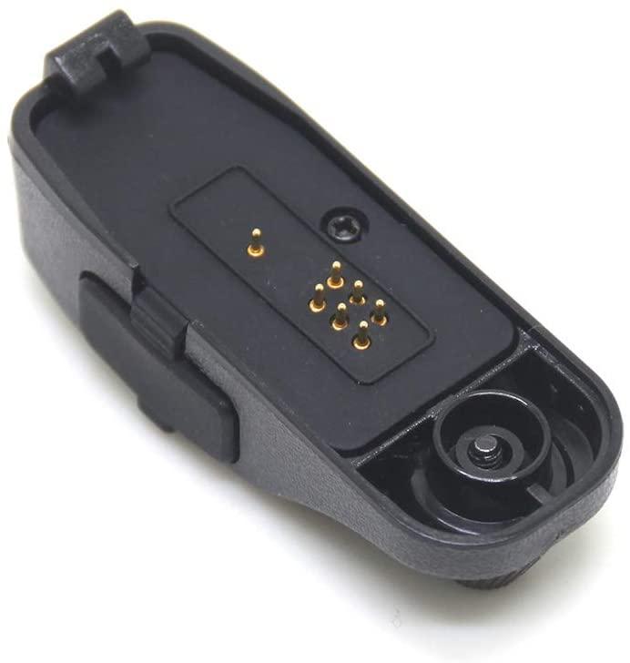 Audio Adaptor for Motorola MOTOTRBO Radio DGP4150 DGP8050 APX7000 XIR P8668 DP3400 DGP6150 APX6000 HLN9783 to 2 PIN Plug Jack