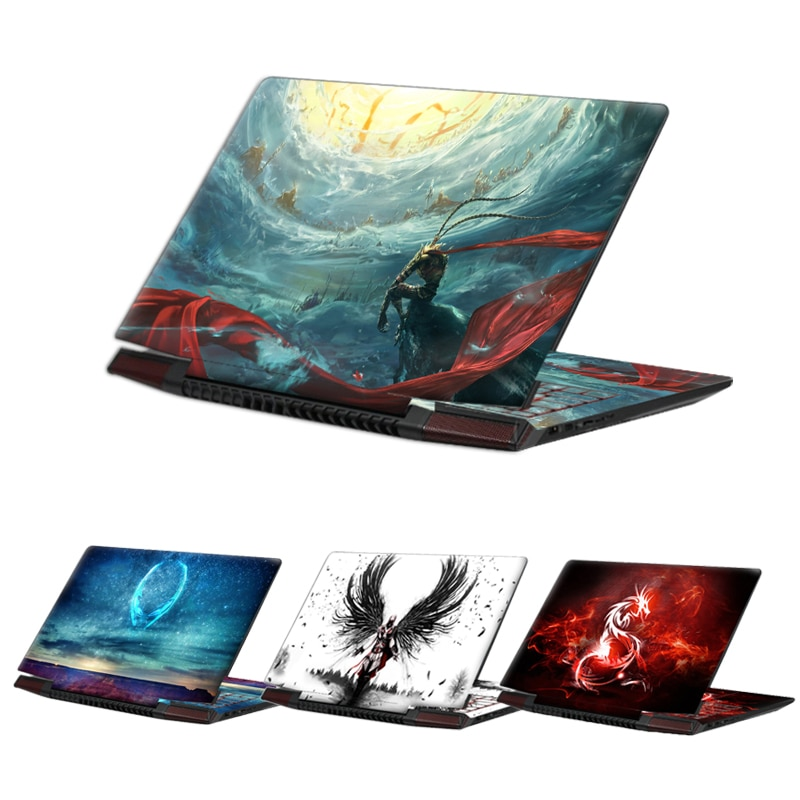 Наклейка для ноутбука 13 15 17 дюймов Защитная крышка для ноутбука DIY для lenovo/dell/xiaomi/macbook/asus
