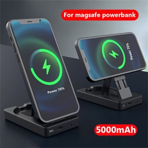 5000mAh Magnetic Wireless Power Bank For Magsafe powerbank 15W Fast charger For iphone 12 12Pro Max Mini Magnet External battery