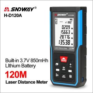 SNDWAY Laser Rangefinder Hunting Rangefinder Digital Mini Range finder Laser Tape Distance Ruler Sensor 5om 70m Distance Meter