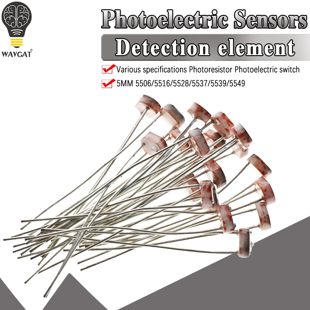 Aliexpress - 20pcs Photoresistor LDR
