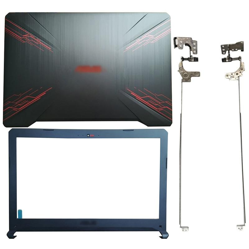 For ASUS FX80 FX80G FX80GD FX504 FX504G FX504GD/GE Laptop LCD Back Cover/Front bezel/Hinges/Palmrest/Bottom Case 47BKLLCJN80