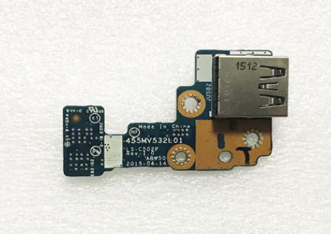 Nuevo conector Jack DC USB Board para HP 15T-AE 15T-AE000 812695-001 455MV532L01...