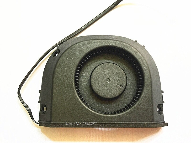 Original ordenador portátil ventilador de CPU para el aeropuerto de cápsula del tiempo A1521 A1470 ME177 ME918 MG60121V1-C01U-S9A DC12V 610-0179 BSB0712HC-HM01