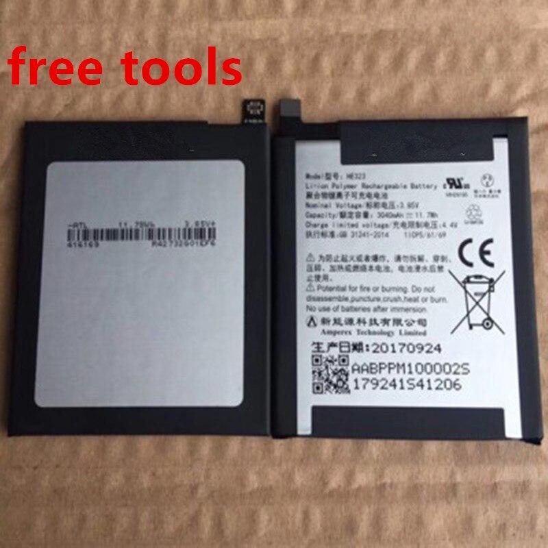 Nueva batería de calidad Original HE323 3,85 V 3040mAh para PH-1 de teléfono esencial