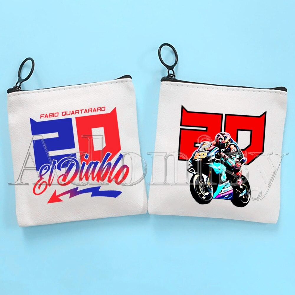Тканевая сумка Fabio Quartz araro, чистая белая сумка, сумка на молнии, сумка для монет, сумка для монет, сумка-клатч