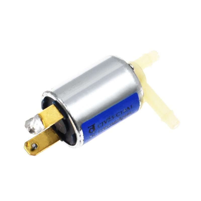 Mini micro válvula solenóide 12v dc válvula de gás de ar de água elétrica desanimado normalmente fechado navio da gota alta qualidade