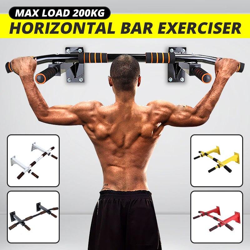 Sgodde suporte de queixo resistente para parede, barra de treino de academia para montar, equipamento para esportes internos máxima 200kg
