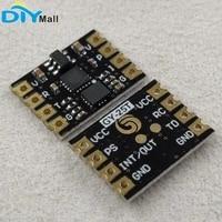 gy 25t 6dof tilt angle sensor six axis serial port i2c gyroscope acceleration module gy usb ttl 01 usb to ttl test tool