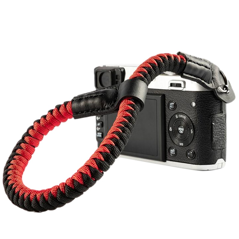 Camera Wrist Strap Hand Strap Compatible for Sony A6400 A6000 A6300 A6500 RXIR II RX10 IV X100F X-T30 Camera Climbing Rope