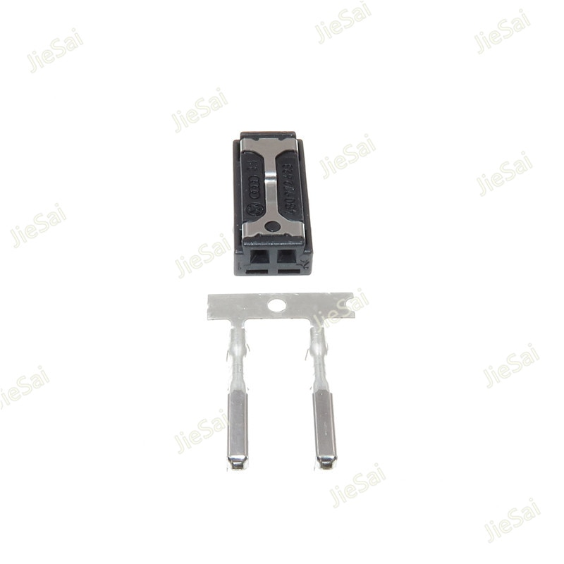 2 Pin 4B0 972 623 zumbador de cable macho Auto Tweeter conector de Audio 4B0972623 para VW Audi