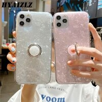 dream shell pattern case for oppo a92s find x2 a53 a32 a52 a72 a31 a8 a11x a9 2020 realme v5 6 pro glitter soft imd ring cover