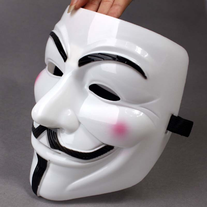 Anonymous Carnival Steampunk Cosplay Costumes Anime Cosplay Mask for The Face Headwear Halloween Party Mask Props