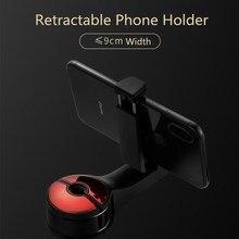 JUSFYU araba arka yastık telefon tutucu iPhone X8 iPad Mini Tablet PC Tablet telefon araba standı arka koltuk kafalık montaj braketi