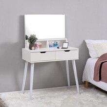 Panana, tocador de pie, Moderno apartamento, estilo nórdico, tocador de dormitorio/tocador blanco