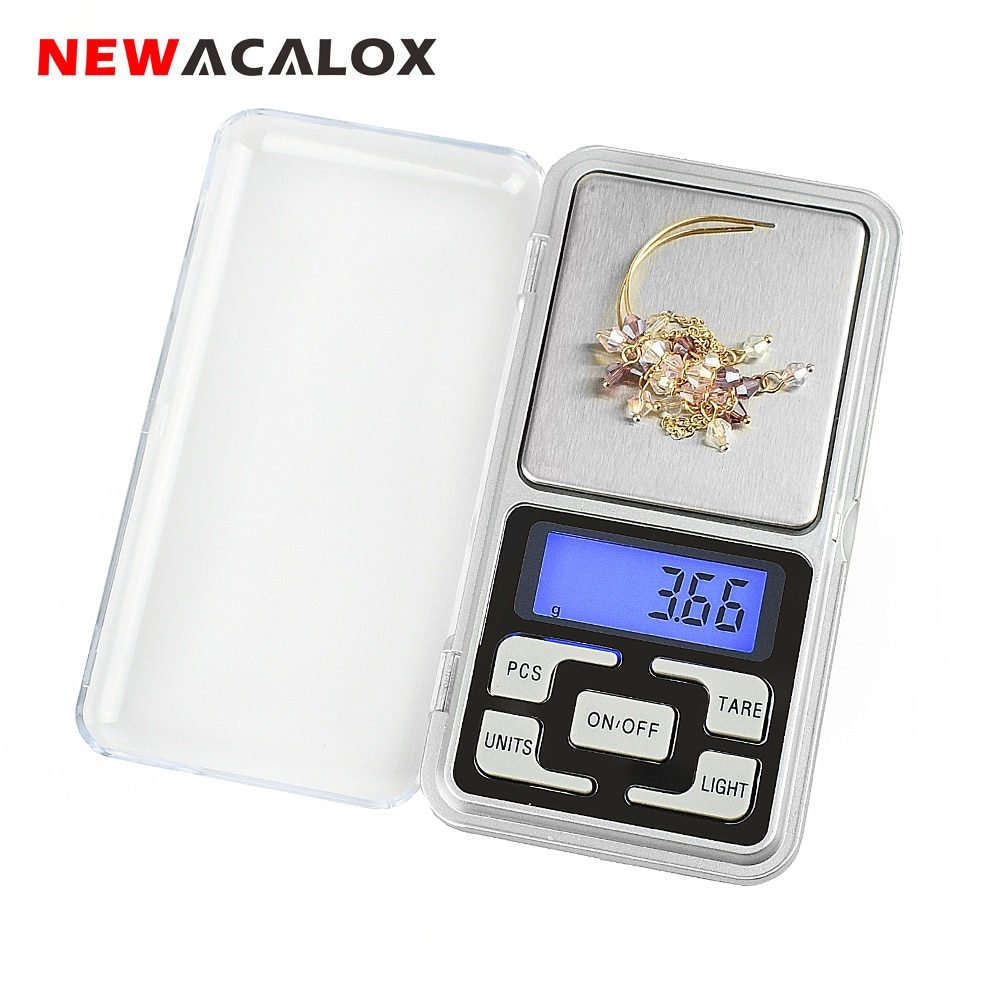 500g x 0.01g Mini Pocket Digital Scale for Gold Sterling Silver Jewelry Scales 0.01 Display Units Ba