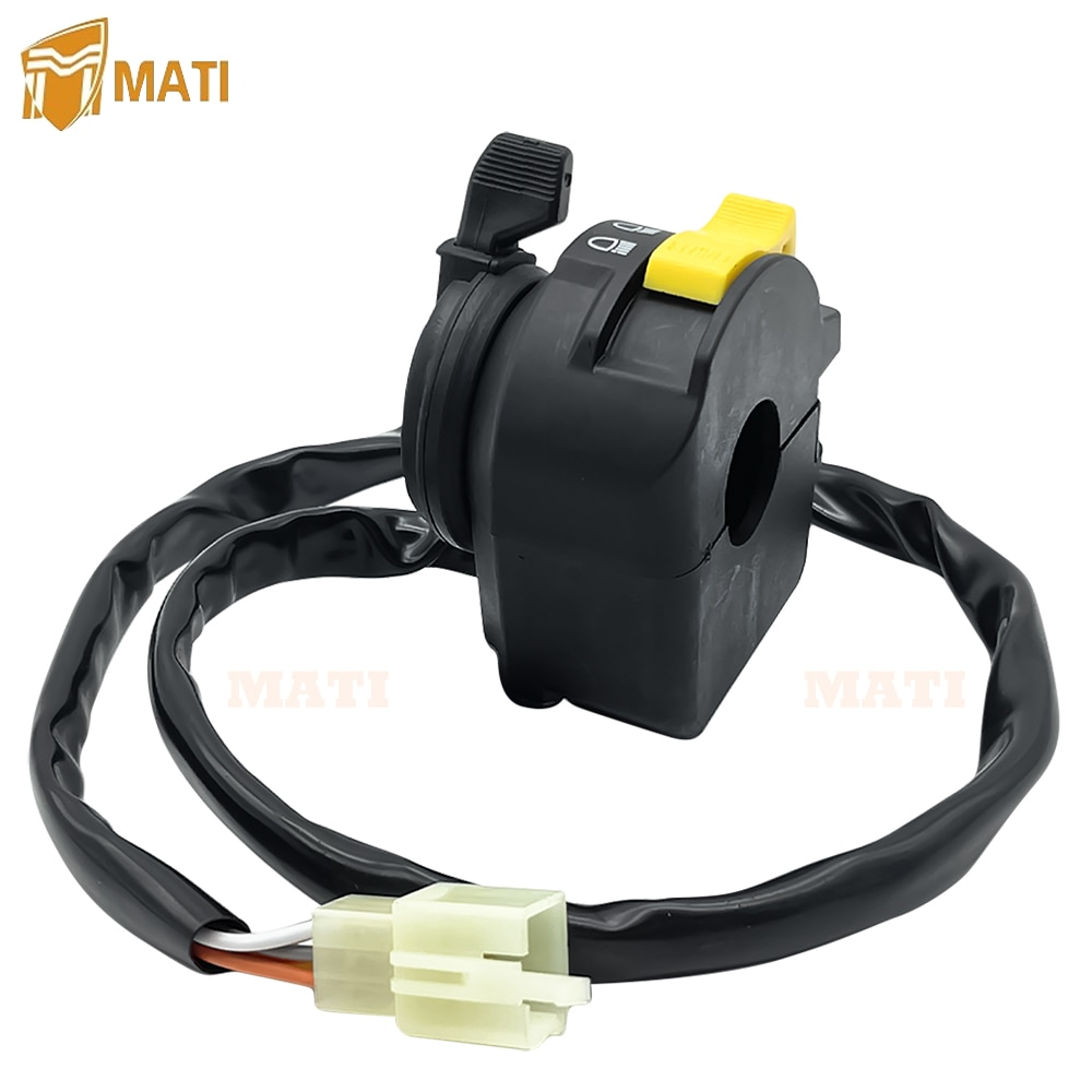 Left Handlebar Switch Start Stop Headlight for Arctic Cat ATV 250 300 400 500 Bearcat 454 Excpet Automatic Editon 3509-017 enlarge