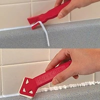 hot sale 2 pieces set mini handmade tools scraper utility practical floor cleaner tile cleaner surface glue residual shovel