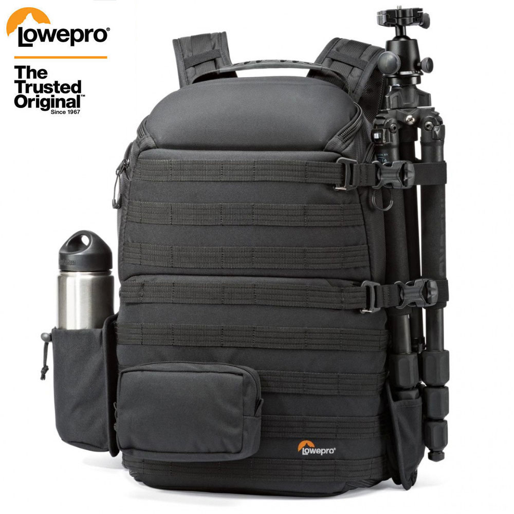 Genuine Lowepro ProTactic 450 aw / 450 aw II shoulder camera bag SLR backpack with all weather Cover 15.6