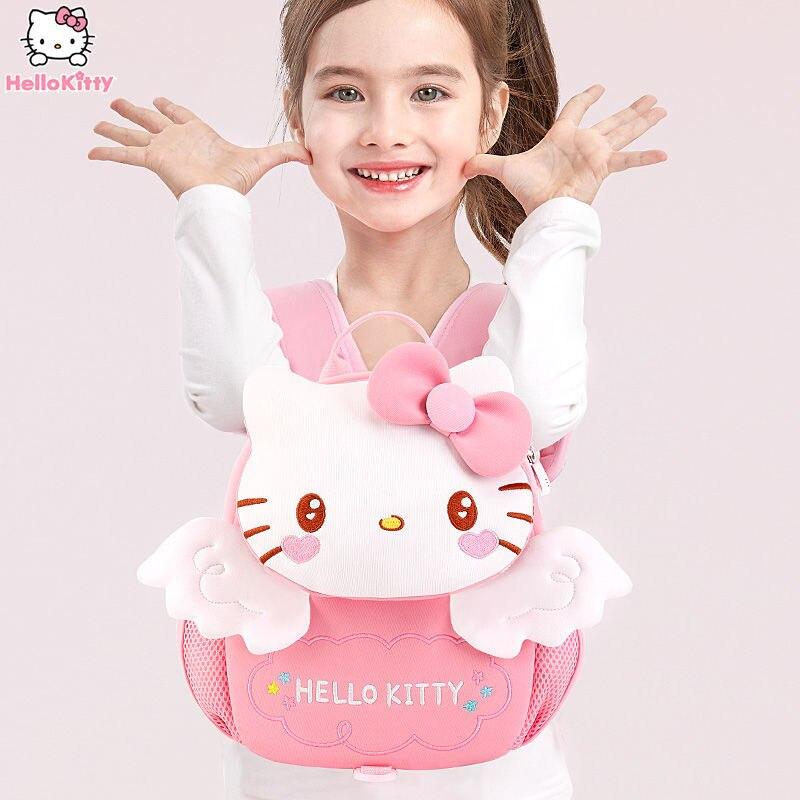 Hello Kitty School Bag Girl Cute Girl Lightweight Toddler Backpack School Bag