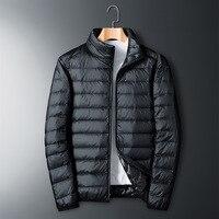 2020 Down Jacket Men Winter Portability Warm 90% White Duck Down Hooded Man Coat jaqueta masculino chaqueta hombre