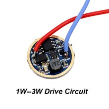 2 stücke AA Booster konstante strom 1W - 3W 17mm Q5 platine 3 Modi Taschenlampe Fahrer LED Taschenlampe DIY Teile Fahrer