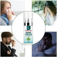 GreenPeople 50ml CBD Hemp Seed Cream For Pain Relief Neck Pain 30000 MG Relief Cream Headache Muscle joint Essential Ointment