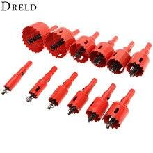 1Pc 16mm-53mm foret trou scie torsion forets Cutter outil électrique métal trous Kit de forage outils de menuiserie pour bois acier fer