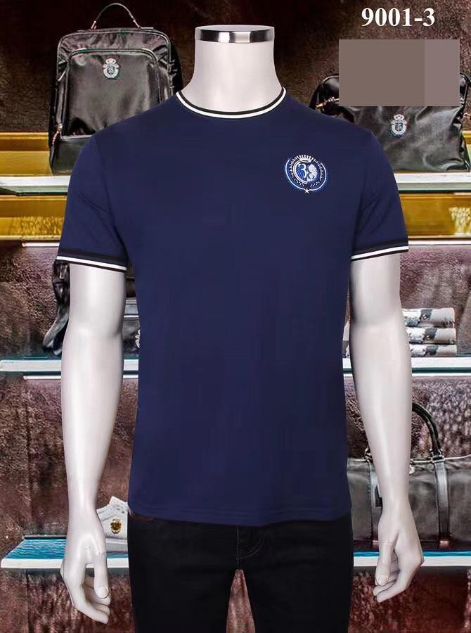 Free Shipping Billionaire Men's T-Shirt Short Sleeve 2020 Summer New Mercerized Cotton Round Neck Print Short Sleeve T-Shirt