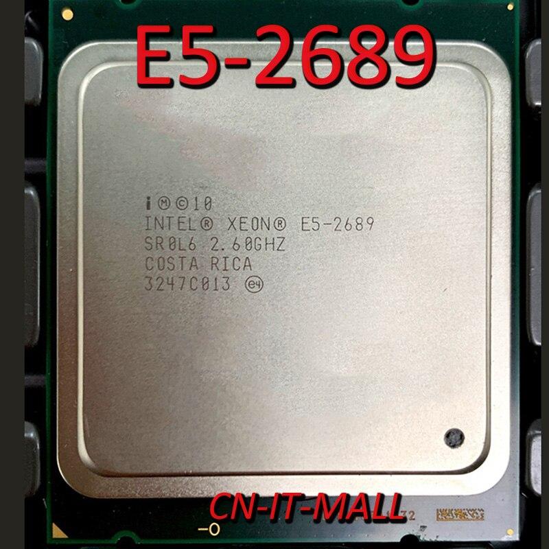Puxado E5-2689 processador central do servidor 2.6g 20 m 8 núcleo 16 thread lga2011